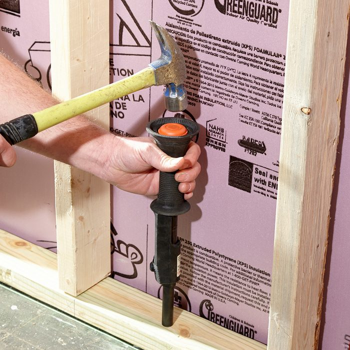 Fasten the bottom plate | Construction Pro Tips