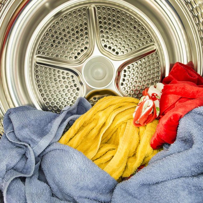 shutterstock_316024223 dryer clothes laundry