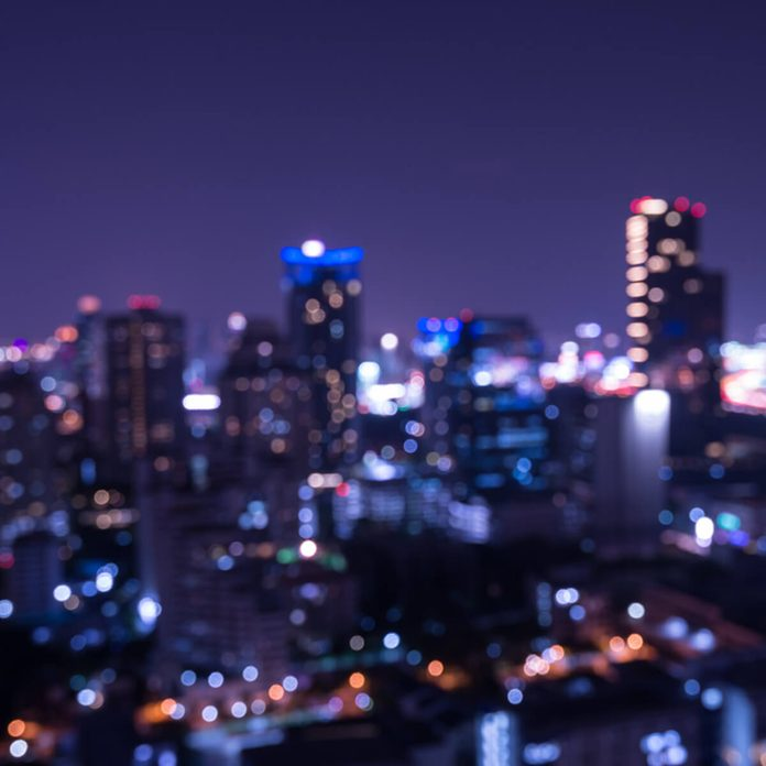 shutterstock_401081020 city night skyline