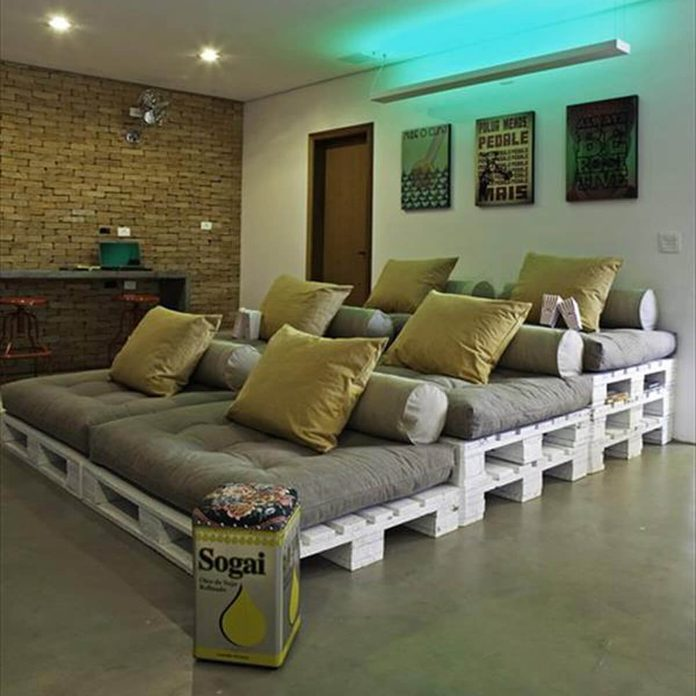 this-one-is-rather-fancy-7 pallet furniture movie theater
