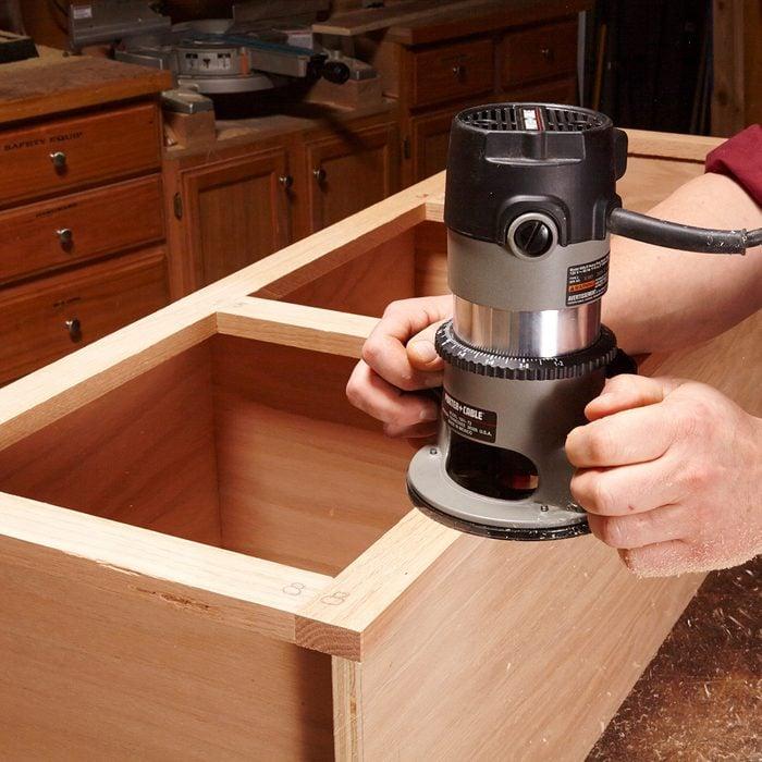 Trim some face frames flush | Construction Pro Tips