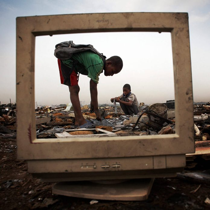 export of e-waste