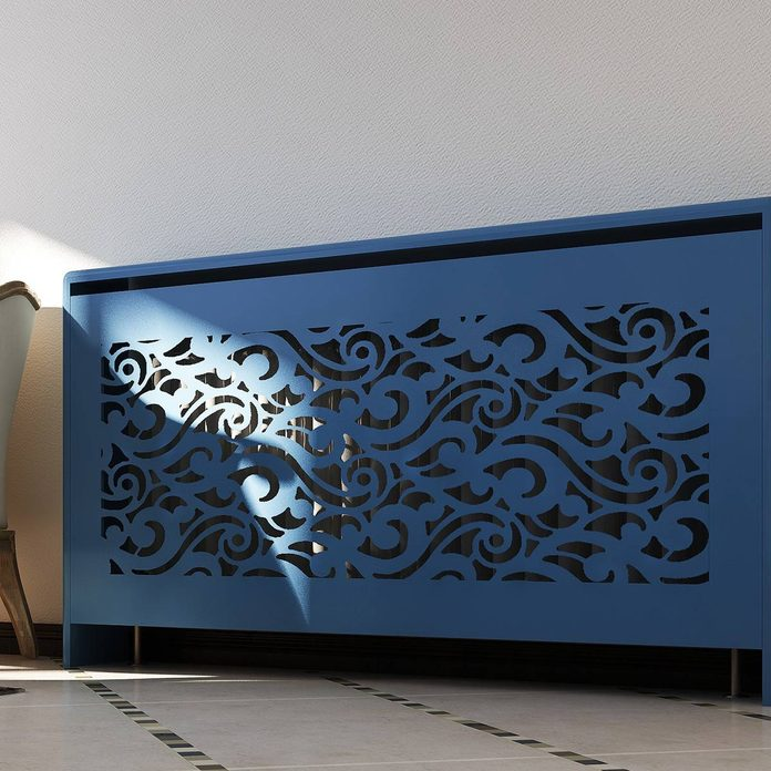 radiator cover baroque design