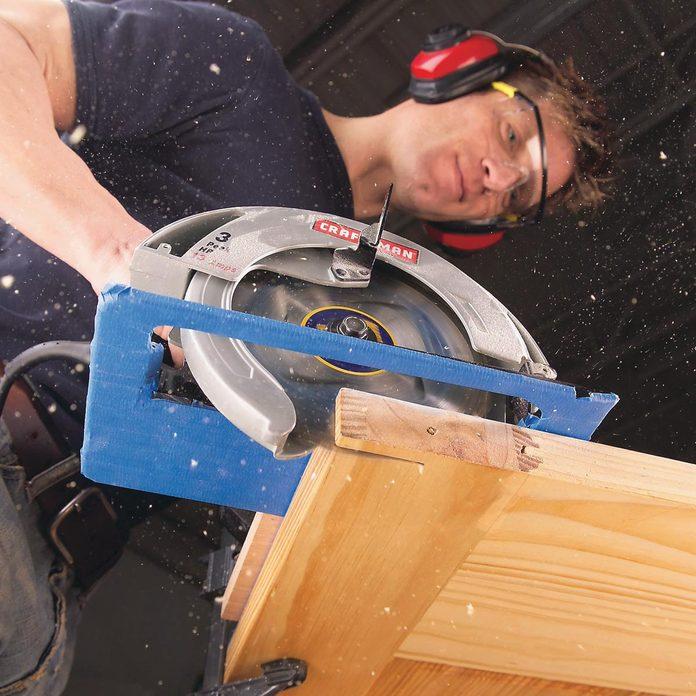 scratch-free sawing