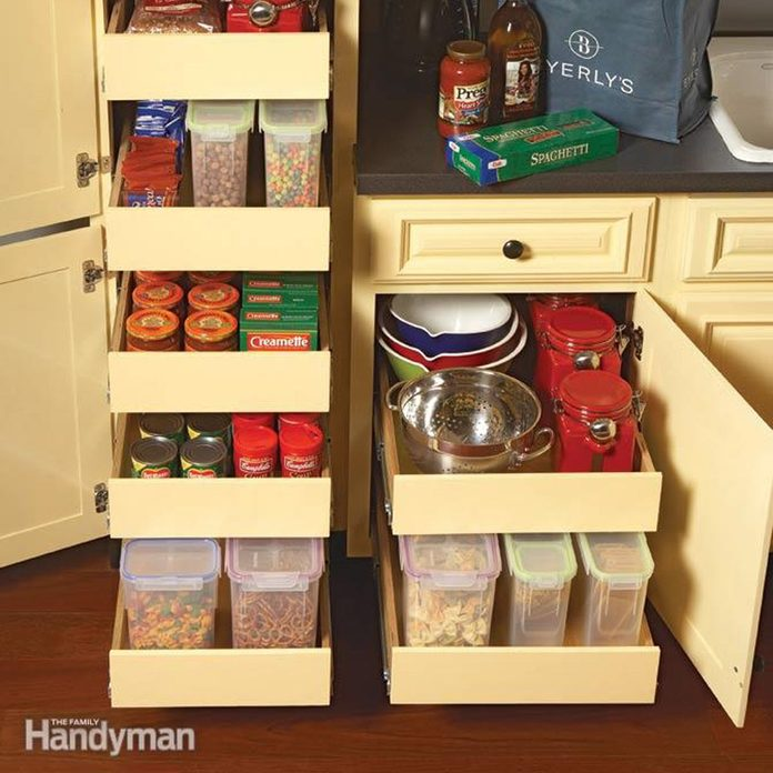 pull-out cabinet organizers