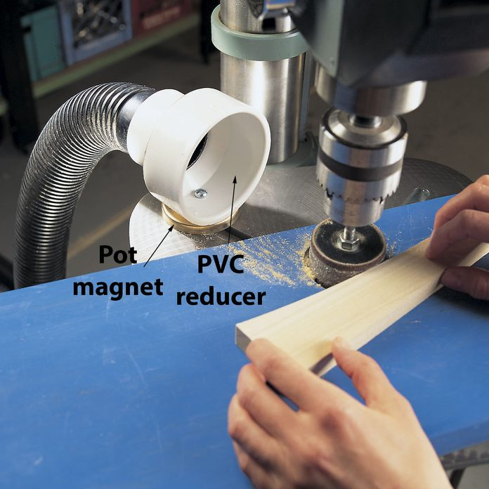 drum sander dust collector
