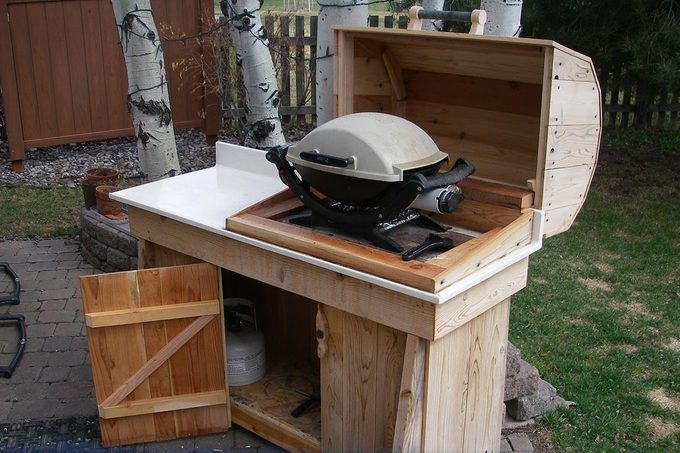 grilling station by reader