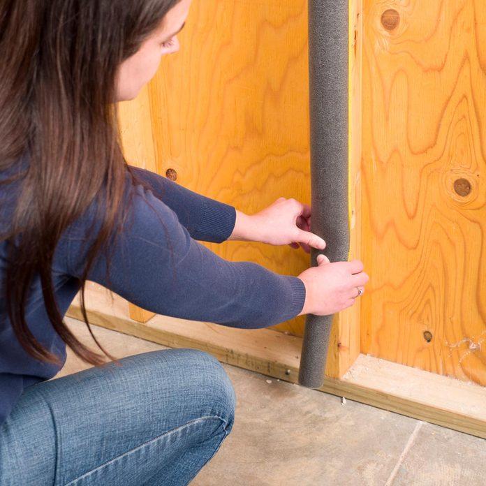 pipe insulation door dings handy hints