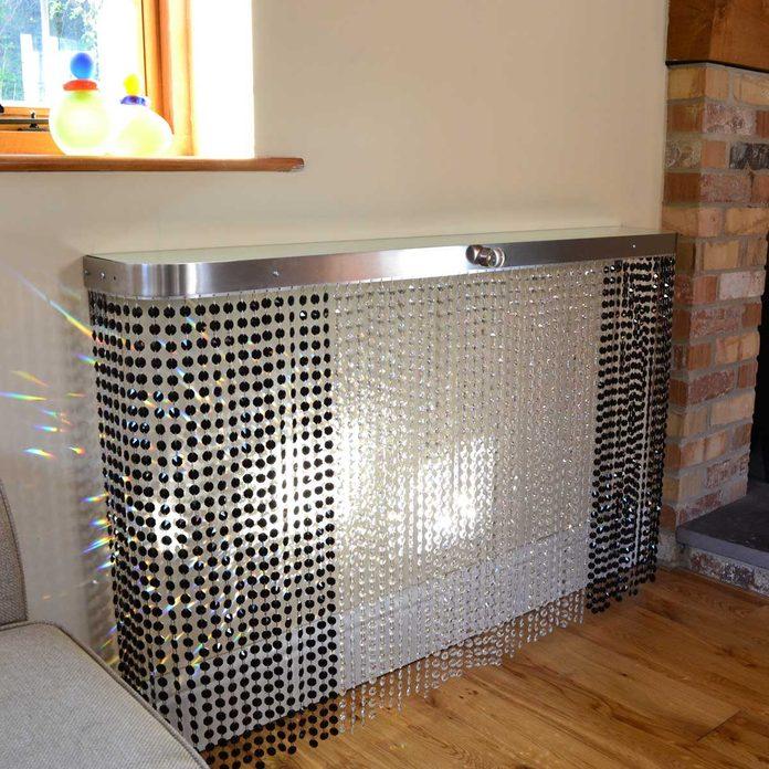 beaded radiator cover