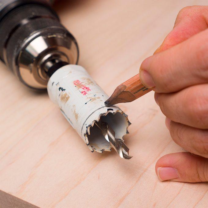 marking hole saw