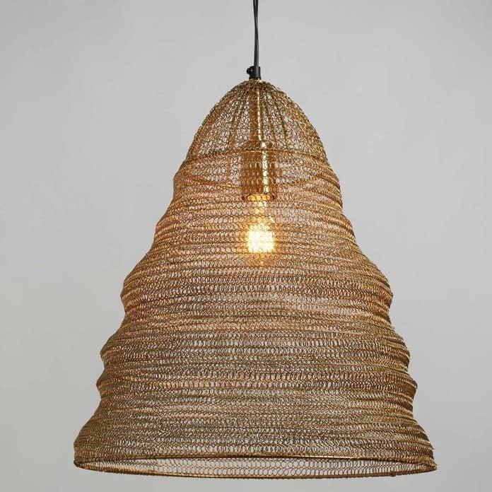 beehive light pendant
