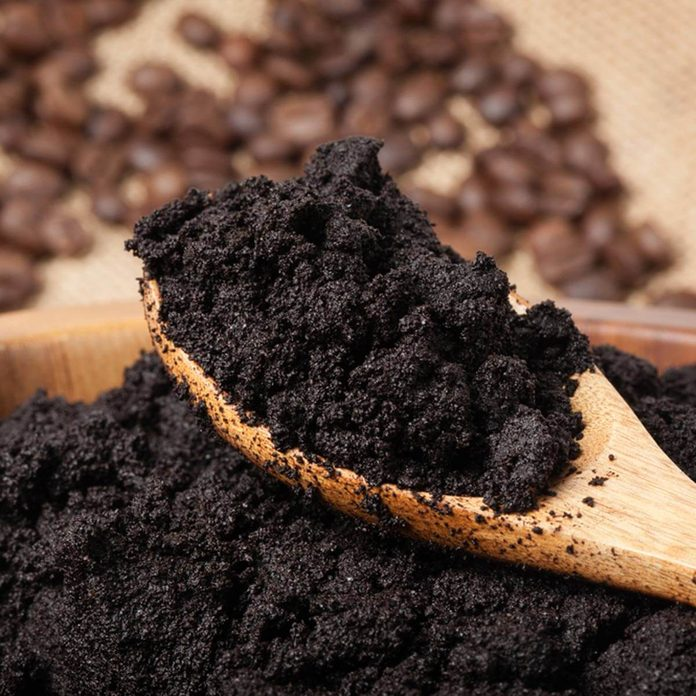 Coffee grounds don't put in garbage disposal