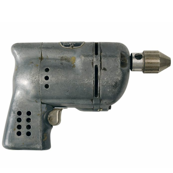 antique tool drill old