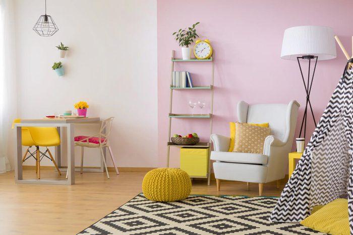 Petal Pink Wall