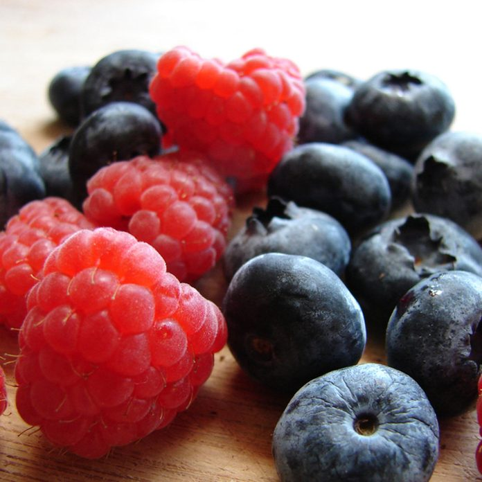 berries strawberry blueberry