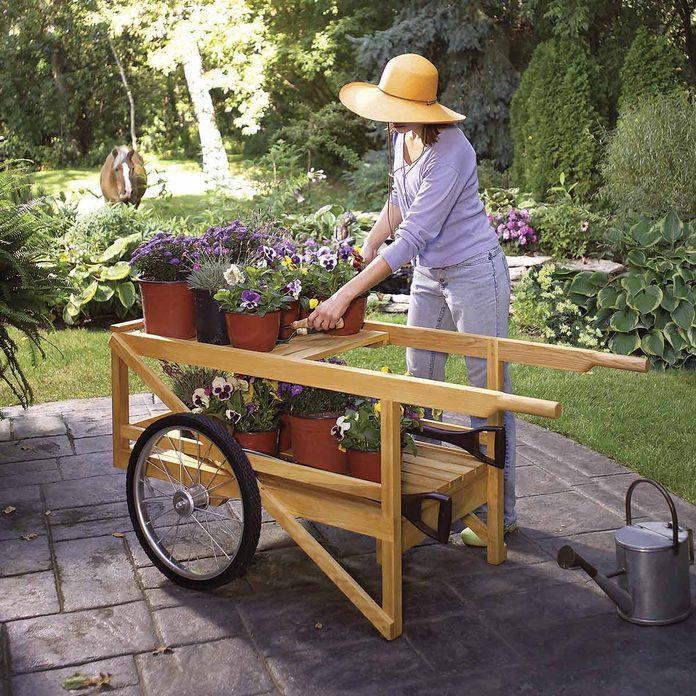classic garden cart