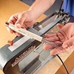 Scroll Saw Tips: Store Blades On-Board