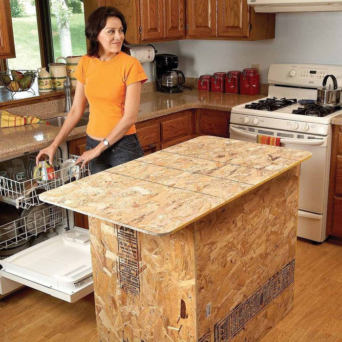 Install A New Island Countertop Kitchen
