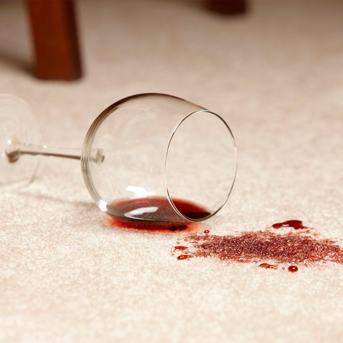 Remove Wine Stains from Carpet