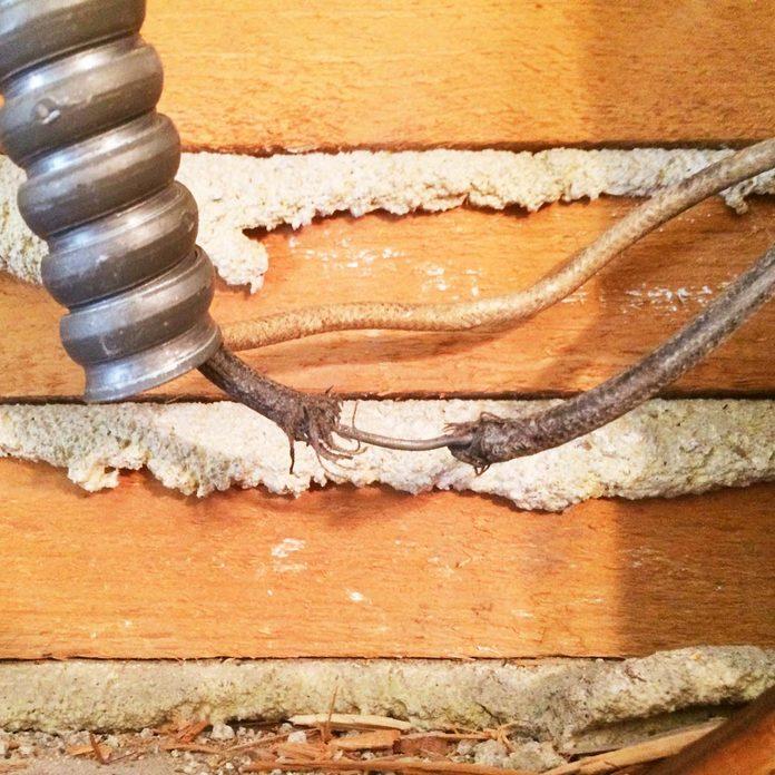 hazardous wires