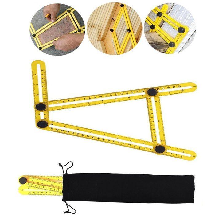 Multi Angle Measuring Tool Folding Ruler