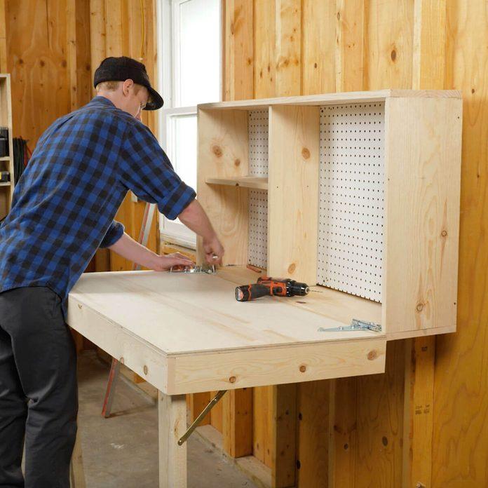 Fold Up Workbench Attach Workbench