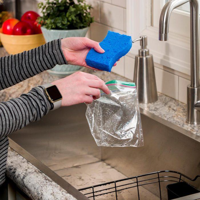 HH DIY Ice Pack Sponge home cook