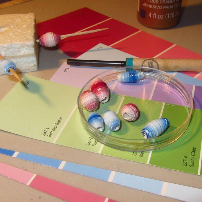 Paint Sample Beads