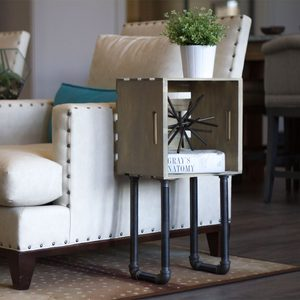 How to Build a Crate End Table