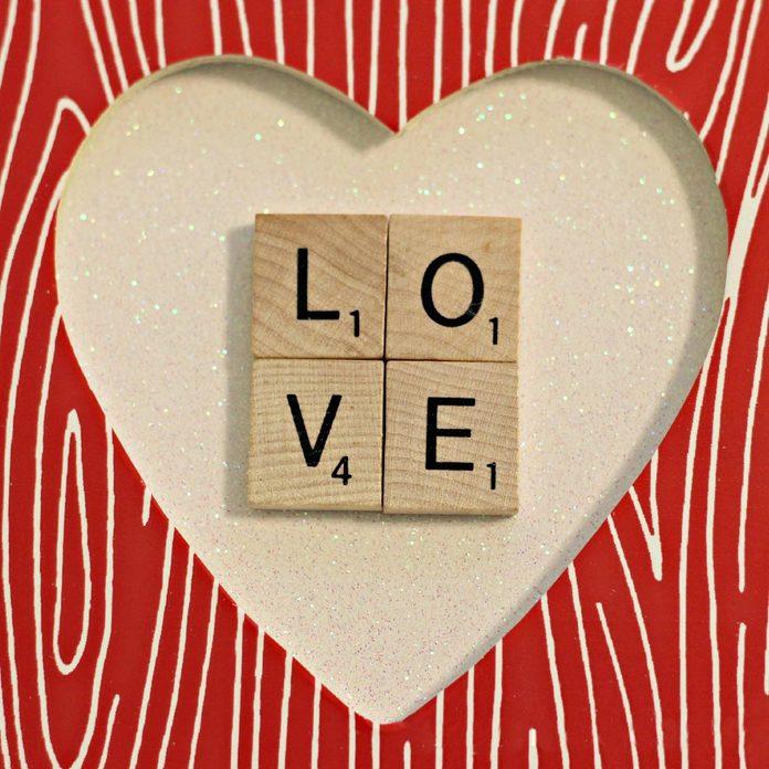 heartframe scrabble valentine