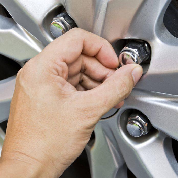 car wheel lug nuts
