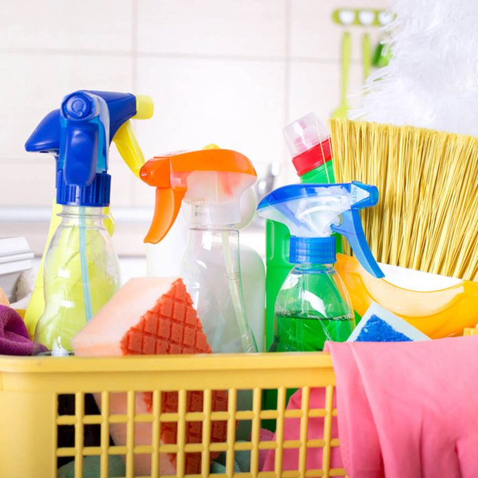 Household Cleaning Products Hazardous Household Items