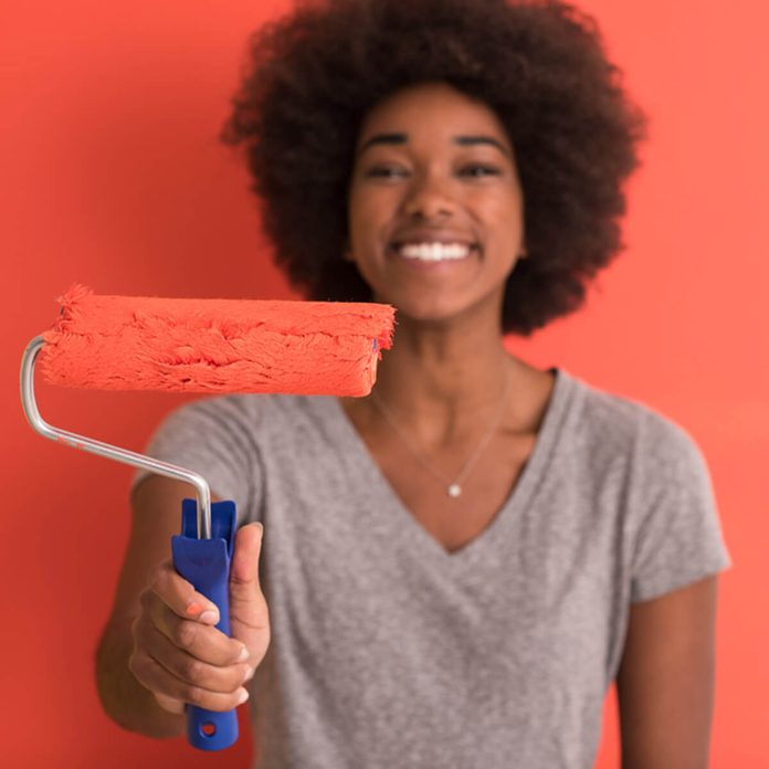 Freshen your bedroom With a New Coat of Paint Coral