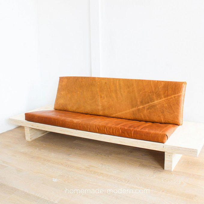 DIY Modern Plywood Sofa