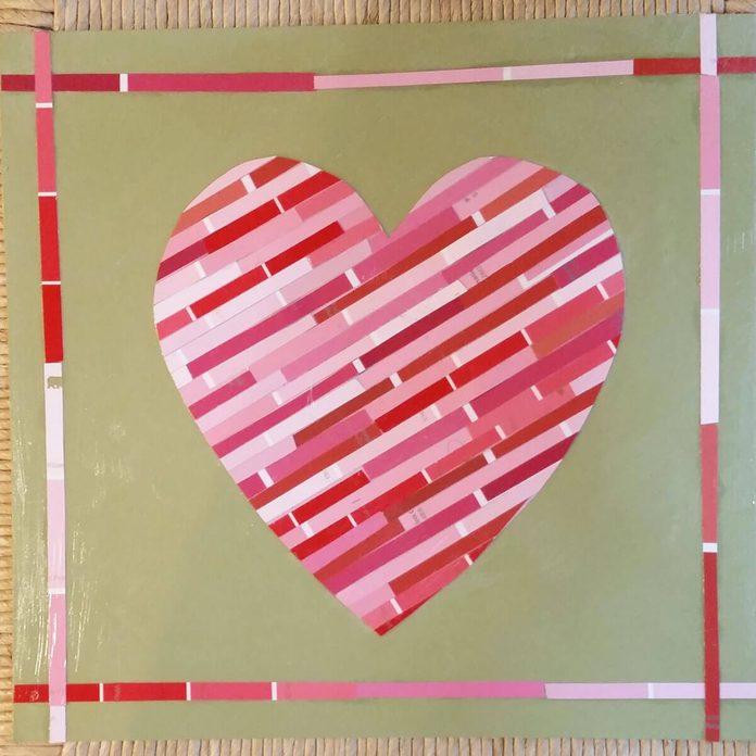 Paint Sample Valentine