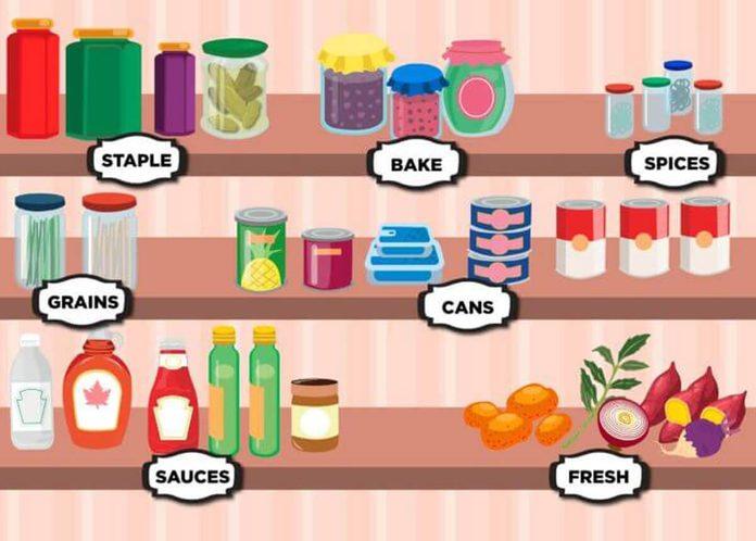 pantry category organization
