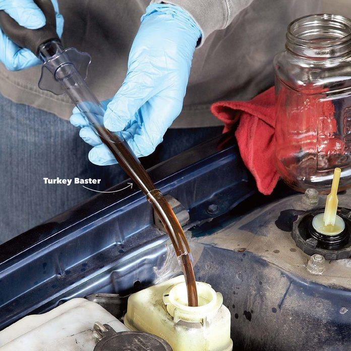 change power steering fluid