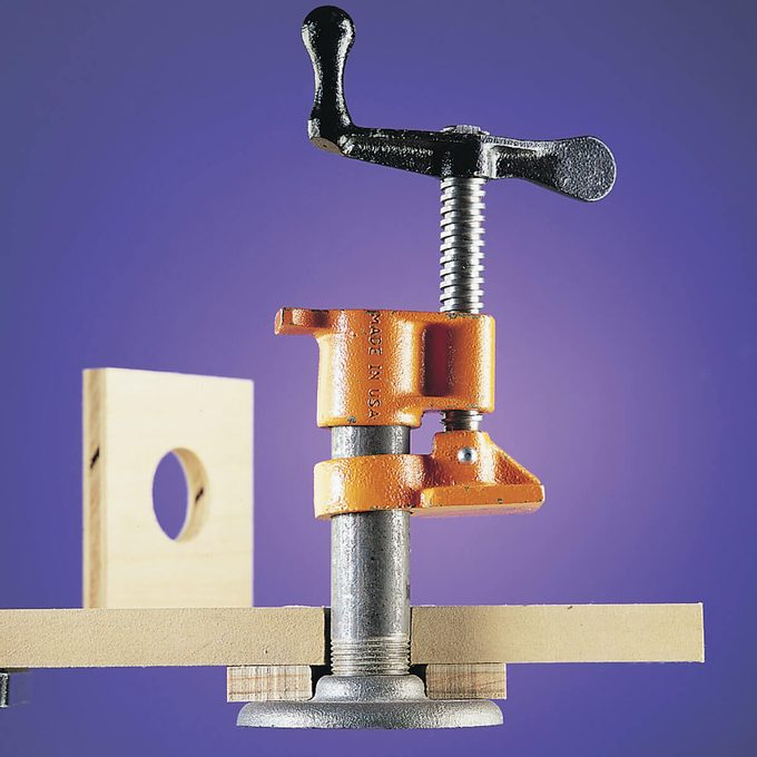 pipe clamp hold-down