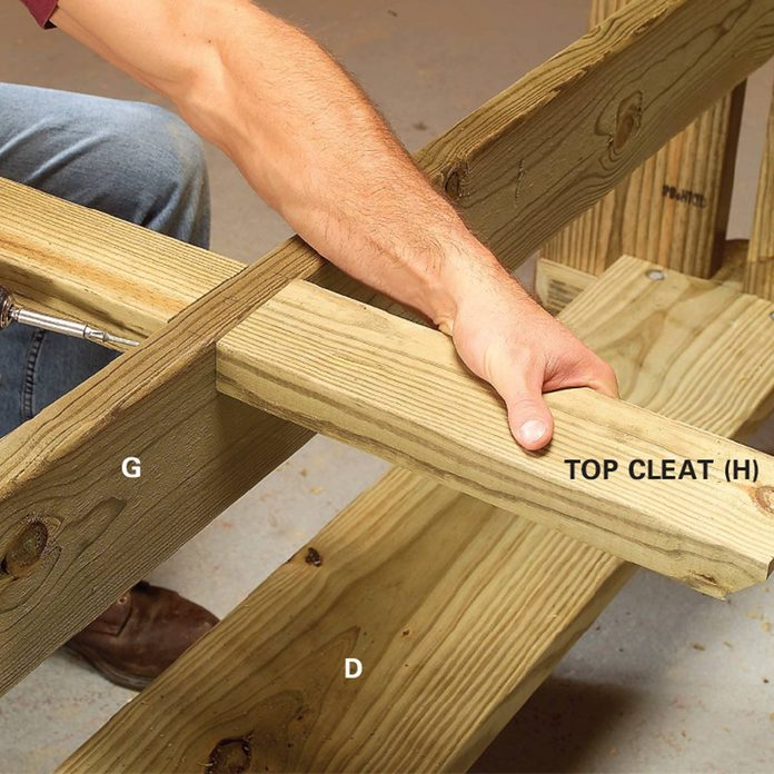 picnic table cleat