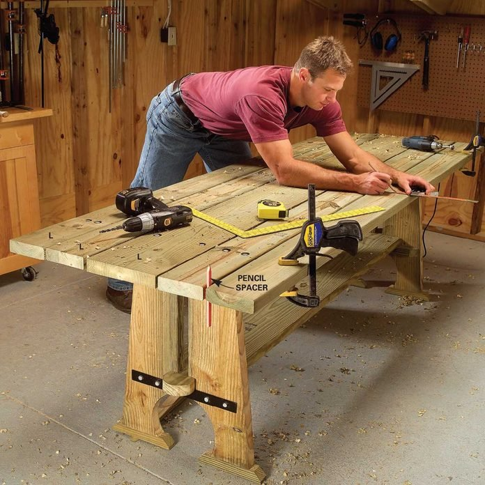 picnic table assembly