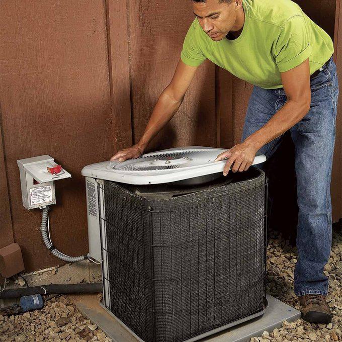 noisy air conditioner fix