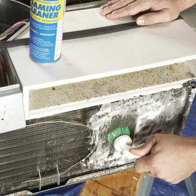 cleaning window air conditioner