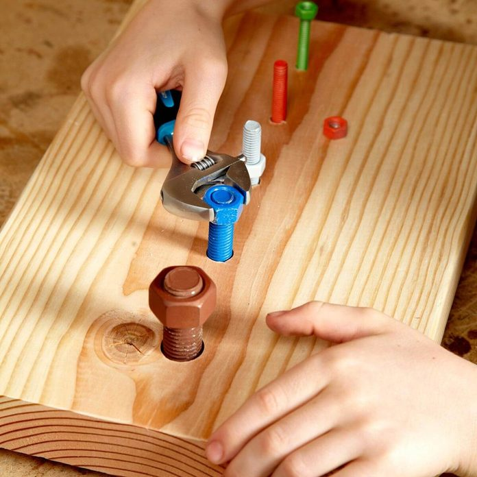 Kids Practice Using Tools Projects