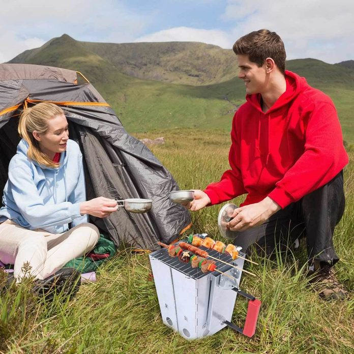 Camping Collapsible Charcoal Starter