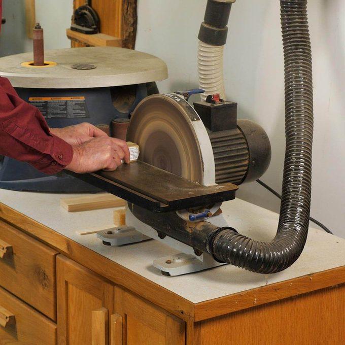 belt sander cleaning disk