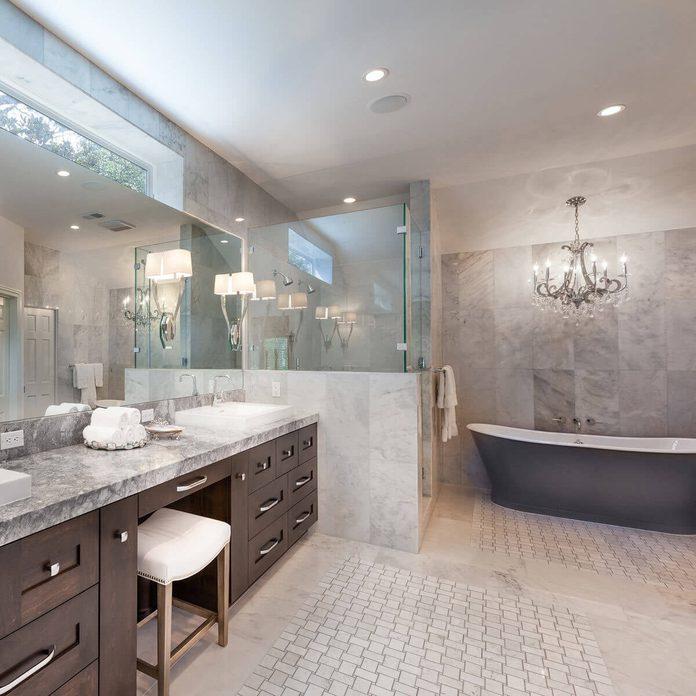 bathroom transtional style
