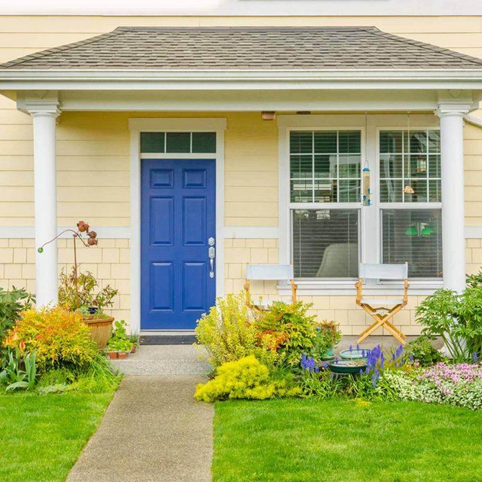 Bold Blue Front Door