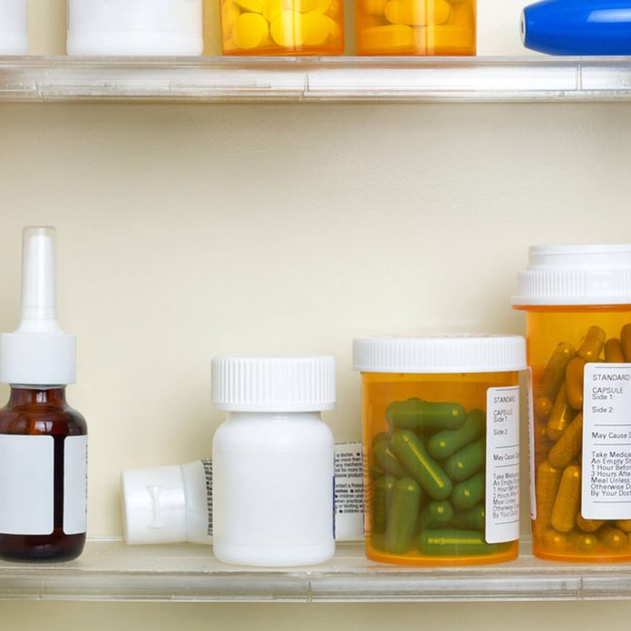 medicine cabinet pills