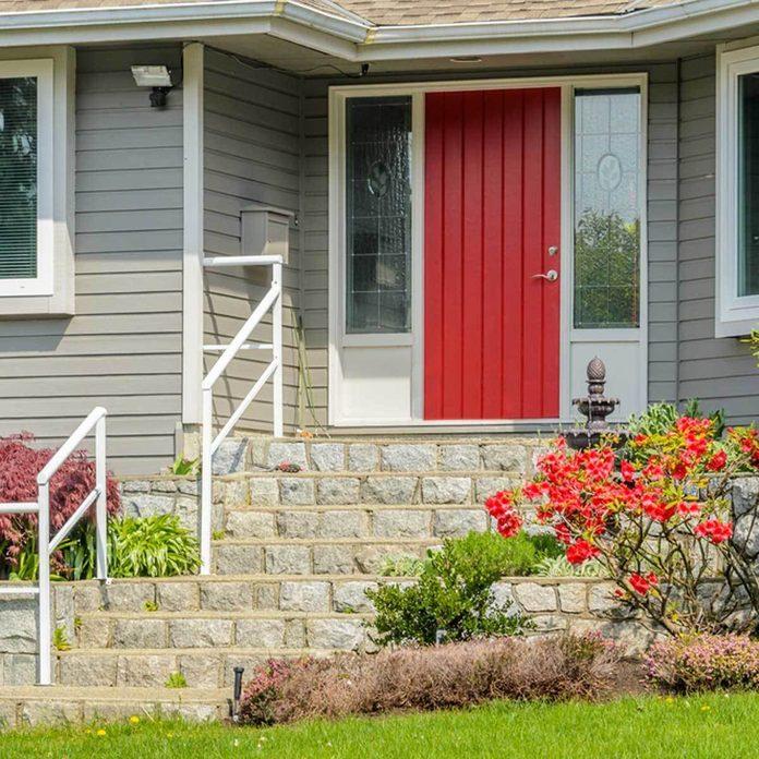 Classic Red Front Door