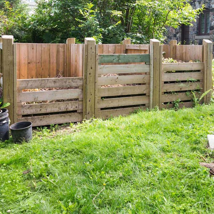 fenced compost